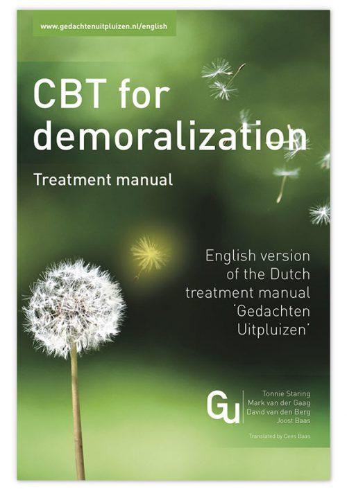 Gedachten Uitpluizen - boek CBT for Demoralization