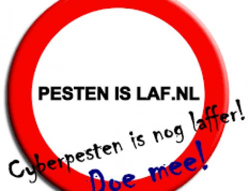 STOP MET PESTEN